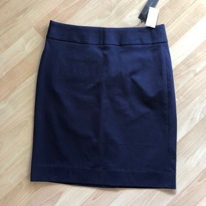 NWT Banana Republic navy blue skirt